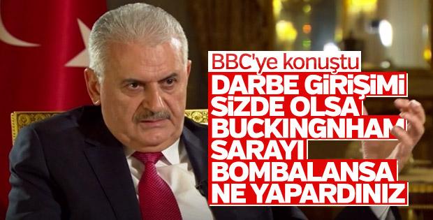 Başbakan'dan BBC'nin FETÖ sorusuna Buckingham cevabı