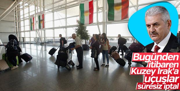 IKBY'ye uluslararası uçuş yasağı