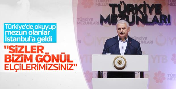 Başbakan 'Türkiye mezunları' ile buluştu