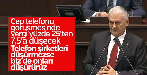 Binali Yıldırım AK Parti grup toplantısında konuştu