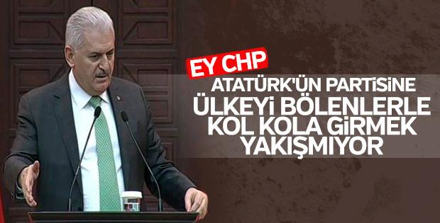 Başbakan'dan CHP'ye Atatürk eleştirisi