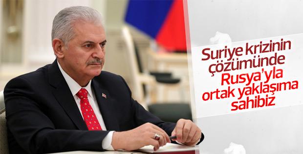 Başbakan Yıldırım'dan Suriye krizi açıklaması