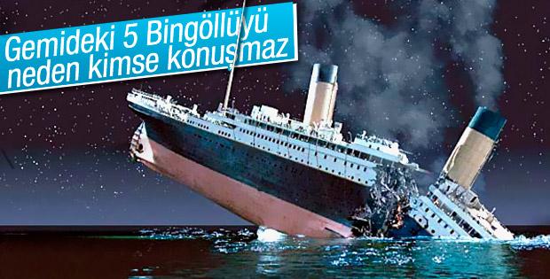 Titanik faciasını yaşayan 5 Bingöllü