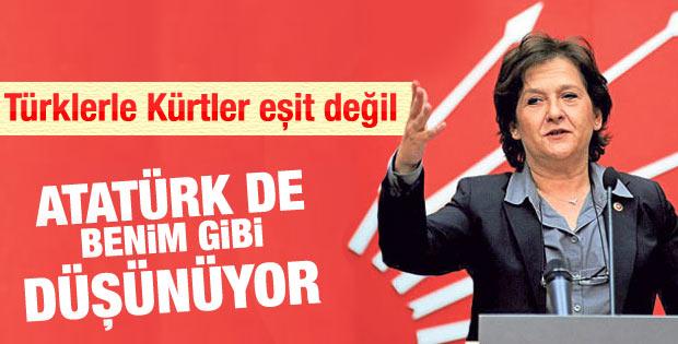 CHP'li Güler: Atatürk de benim gibi düşünürdü