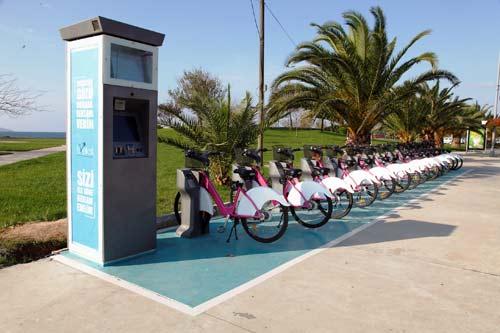 Tarihi Yarımada'ya Akıllı Bisiklet geliyor