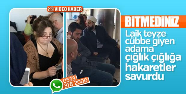 Atatürk Havalimanı'nda sarıklı vatandaşa çirkin saldırı