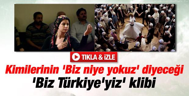 Başbakanlık'tan demokratikleşme klibi: Biz Türkiye'yiz