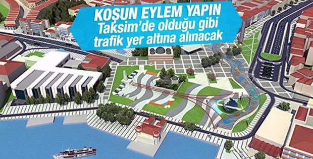 Beşiktaş Meydanı Yayalaştırma Projesi hazır