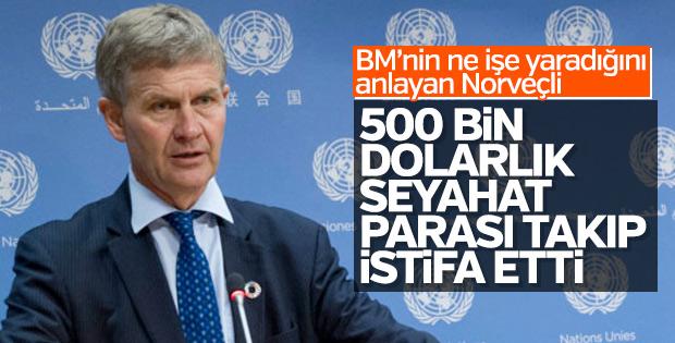 BM'de 500 bin dolarlık seyahat istifa getirdi