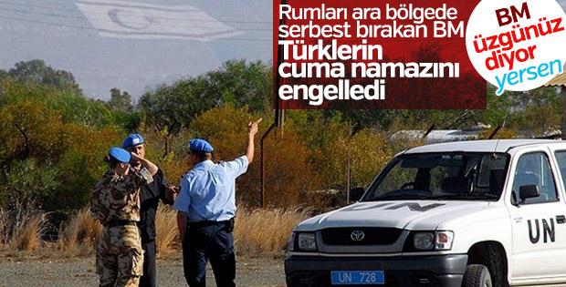 BM'nin Kıbrıs'taki Barış Gücü cuma namazını engelledi