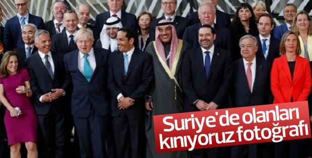 AB ve BM'nin Suriye konferansı sona erdi