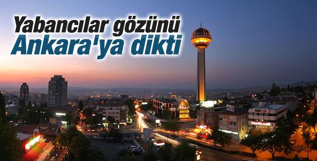 Yabancı yatırımcılar rotasını Ankara'ya çevirdi
