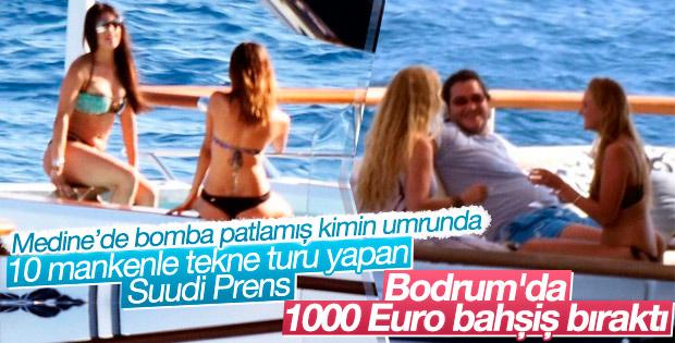 Suudi prensler 1000 Euro bahşiş bıraktı