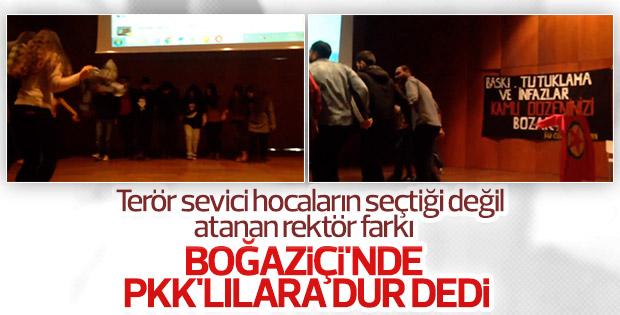 Boğaziçi Üniversitesi'nin yeni rektörü PKK'ya geçit vermedi