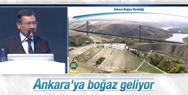 Gökçek açıkladı: Ankara'ya boğaz geliyor