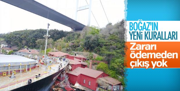 İstanbul Boğazı'nın yeni kuralları