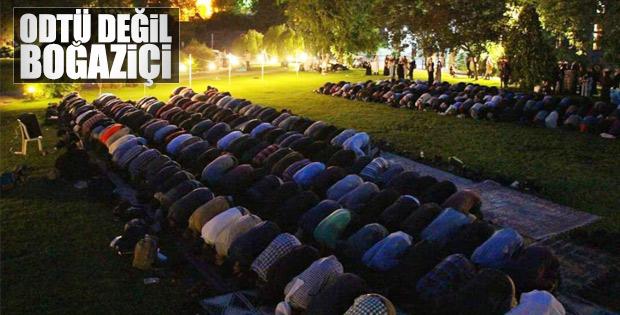 Boğaziçi Üniversitesi'nde Ramazan programı