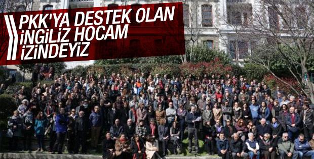 Boğaziçi Üniversitesi'nde tutuklamalara tepki eylemi