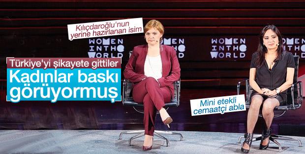 Selin Sayek Böke New York'ta Türkiye'yi şikayet etti