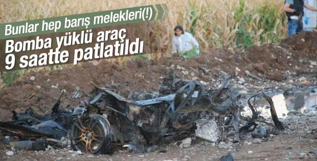 Batman ve Kars'ta PKK'nın bombaları imha edildi