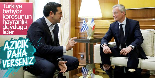 Fransa Yunanistan'dan borçlarını istiyor