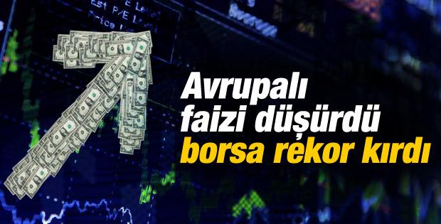 Borsa İstanbul yılın en yükseğinde