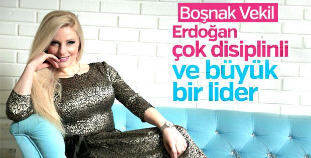 Recep Tayyip Erdoğan hayranı Boşnak Vekil