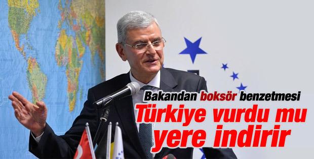 AB Bakanı Bozkır: Türkiye vurdu mu yere indirir