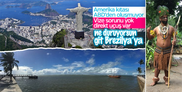 Brezilya'yı keşfediyoruz: Sao Paulo, Porto Segura ve Rio