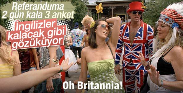 İngiltere anketleri: Referandumdan hangi sonuç çıkacak