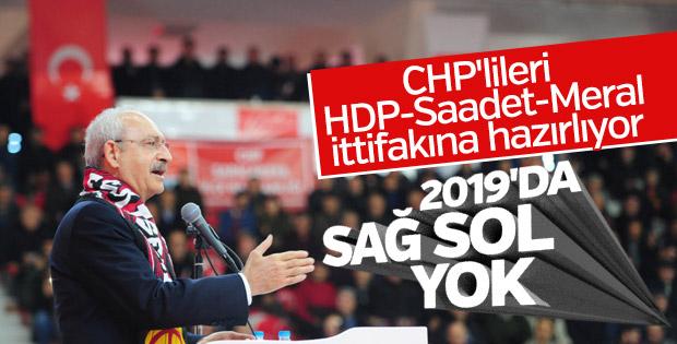 Kılıçdaroğlu, politika değişikliğinin sinyalini verdi