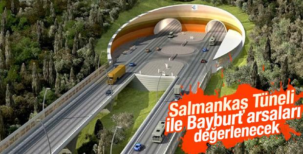 Salmankaş Tüneli ile Bayburt arsaları değerlenecek