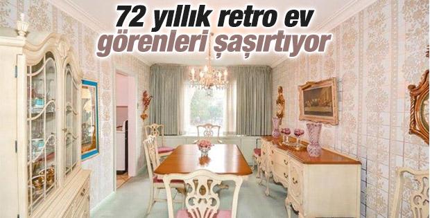 72 yıllık retro ev satışta