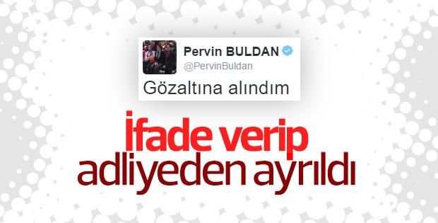 Pervin Buldan ifade verdi