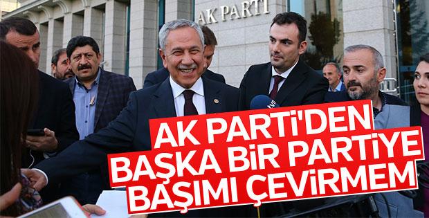 Bülent Arınç: İyi bir AK Partiliyim