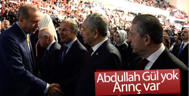 Bülent Arınç AK Parti kongresinde
