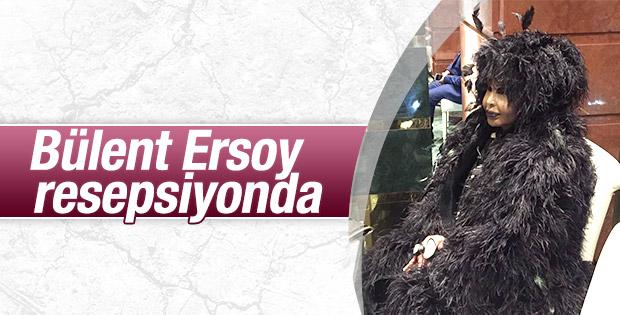Bülent Ersoy'un resepsiyon kıyafeti şaşırttı