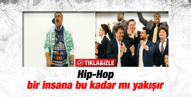 Beyaz Show'da Bülent Serttaş'tan Hip-Hop performansı