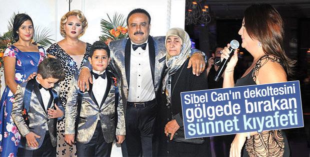 Bülent Serttaş oğullarına sünnet düğünü yaptı