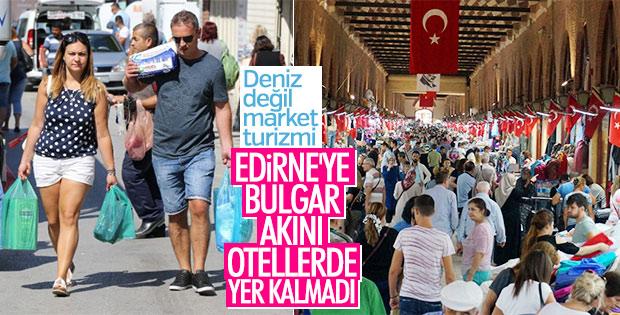 Bulgar turistler Edirne'ye aktı