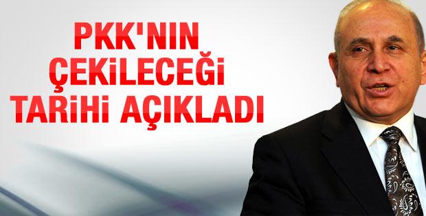 Burhan Kuzu PKK'nın çekileceği tarihi açıkladı