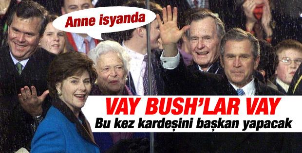 George W. Bush'un kardeşi de başkan olmak istiyor