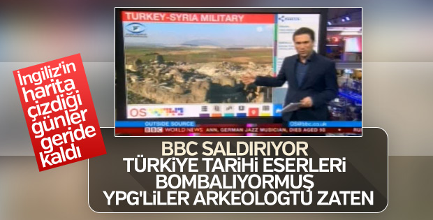 BBC Zeytin Dalı Harekatı'nı karalamaya başladı