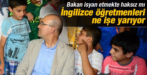 Bakan Şimşek'ten İngilizce öğretmenlerine mesaj