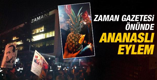 Ak Partililerden Zaman önünde ananaslı eylem