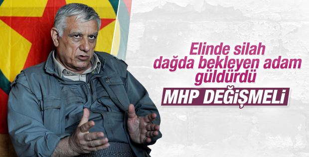 PKK'lı Cemil Bayık MHP'ye ayar verdi: Değişmek zorundasın