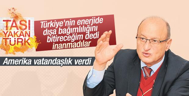Taşı yakan Türk mucit Amerika yolcusu