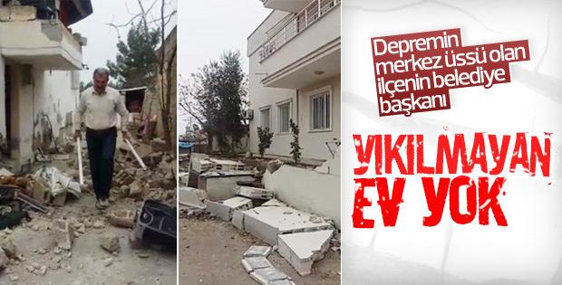 Samsat Belediye Başkanı: Yıkılmayan ev yok