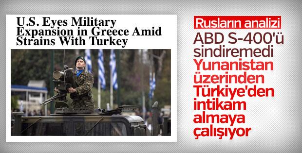 ABD'nin Yunanistan hamlesi Rus basınında