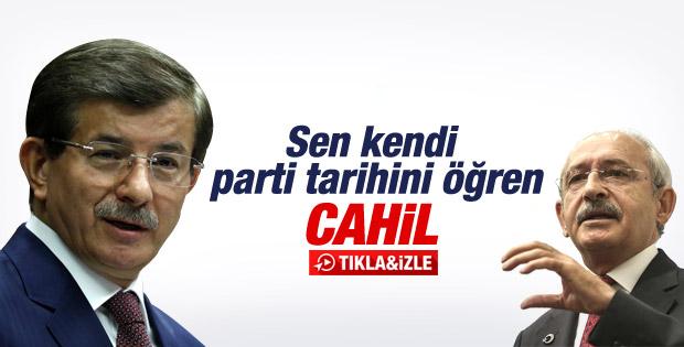 Başbakan Davutoğlu'nun il başkanları toplantısı konuşması